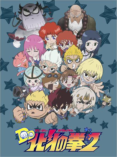 TVアニメ「DD北斗の拳2」DVD-BOX画像