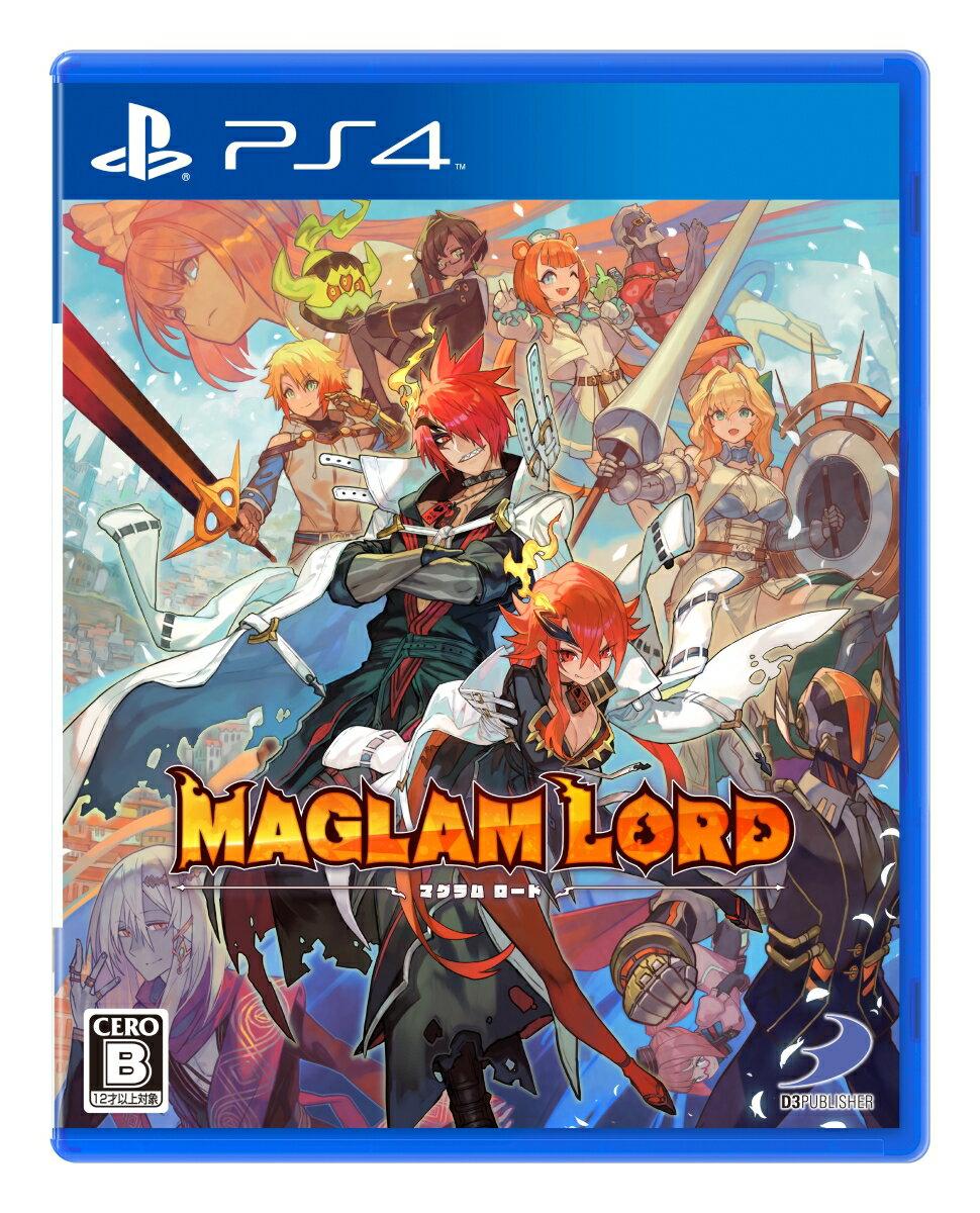 【特典】MAGLAM LORD / マグラムロード PS4版(【予約封入特典】デコアイテム「刃の魔王の剣」がもらえるダウンロードコードチラシ)