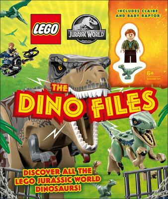 洋書, BOOKS FOR KIDS Lego Jurassic World the Dino Files With Lego LEGO JURASSIC WORLD THE DINO F Catherine Saunders