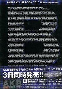 【送料無料】AKB48 VISUAL BOOK 2010 featuring team B