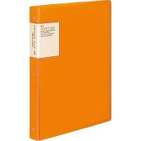 コクヨ バインダー ノート キャリーオール B5 26穴 最大100枚 オレンジ ルー5001YR