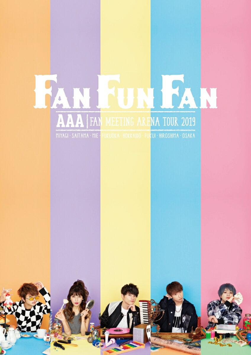AAA FAN MEETING ARENA TOUR 2019 〜FAN FUN FAN〜(スマプラ対応)【Blu-ray】