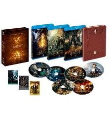 ホビット トリロジーBOX ブルーレイセット (6枚組/デジタルコピー付)【完全数量限定生産】【Blu-ray】