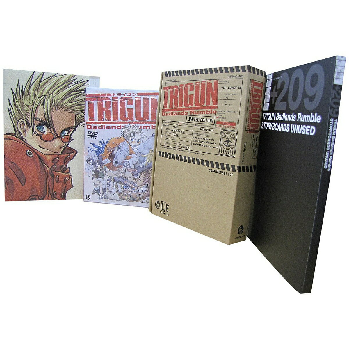 劇場版トライガン TRIGUN Badlands Rumble [LIMITED EDITION]画像