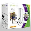 【送料無料】Xbox360 4GB+Kinect スペシャルエディション (ピュアホワイト)