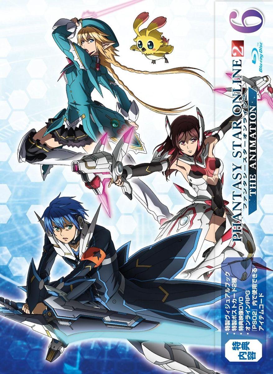 ファンタシースターオンライン2 ジ アニメーション 6(初回限定版)【Blu-ray】画像