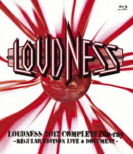 LOUDNESS 2012 COMPLETE Blu-ray -REGULAR EDITION LIVE & DOCUMENT-【Blu-ray】画像