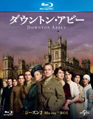 ダウントン・アビー シーズン2 ブルーレイBOX【Blu-ray】 [ ヒュー・ボネヴィル ]