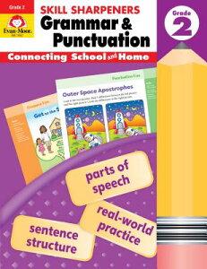 Skill Sharpeners Grammar and Punctuation, Grade 2 SKILL SHARPENERS GRAMMAR & PUN (Skill Sharpeners Grammar and Punctuation) [ Evan-Moor ]