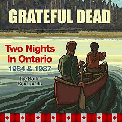 【輸入盤】Two Nights In Ontario 1984 & 1987. The Radio Broadcasts (4CD)画像