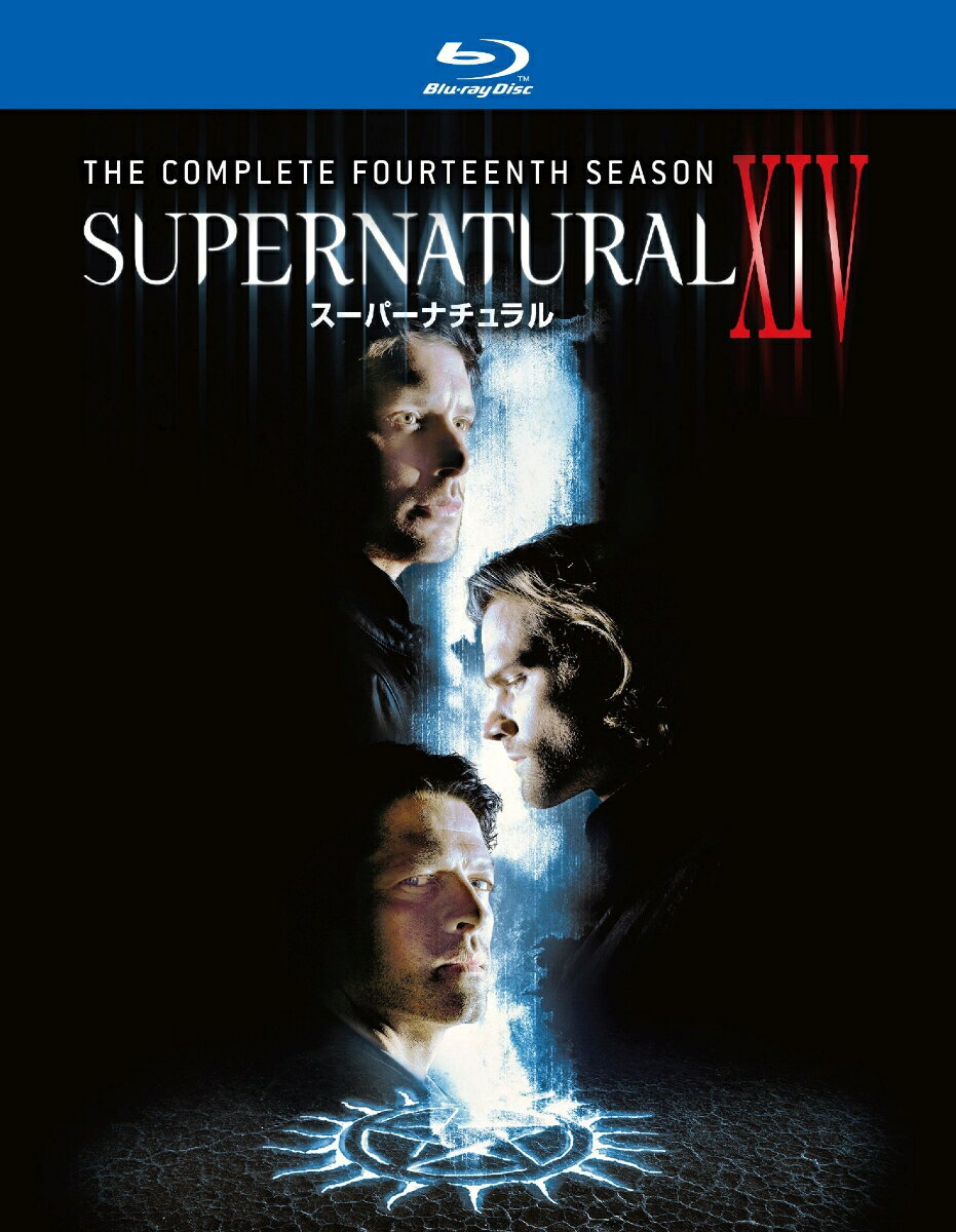 SUPERNATURAL XIV <フォーティーン・シーズン>ブルーレイ コンプリート・ボックス(3枚組)【Blu-ray】