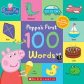 Youngsters can learn 100 first words with Peppa and George, including items found at home, the park, the supermarket, and more. With 20 flaps to lift inside, this oversized board book is full of endless peek-a-boo fun. Full color.