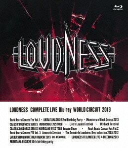 LOUDNESS COMPLETE LIVE Blu-ray WORLD CIRCUIT 2013【Blu-ray】画像