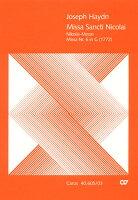 【輸入楽譜】ハイドン, Franz Joseph: ミサ曲 第4番 ト長調 「聖ニコライ・ミサ」 Hob.XXII/6(ラテン語): ヴォーカルスコア