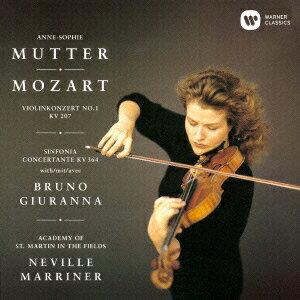 モーツァルト:ヴァイオリン協奏曲 第1番 協奏交響曲 K.364 他画像