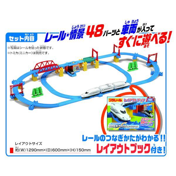 かっこいいがいっぱい!新幹線 N700S確認試験車 立体レイアウトセット(新パッケージ)