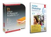 【楽天限定】Photoshop Elements 10 日本語版 MLP +Office Professional 2010 アカデミック セット