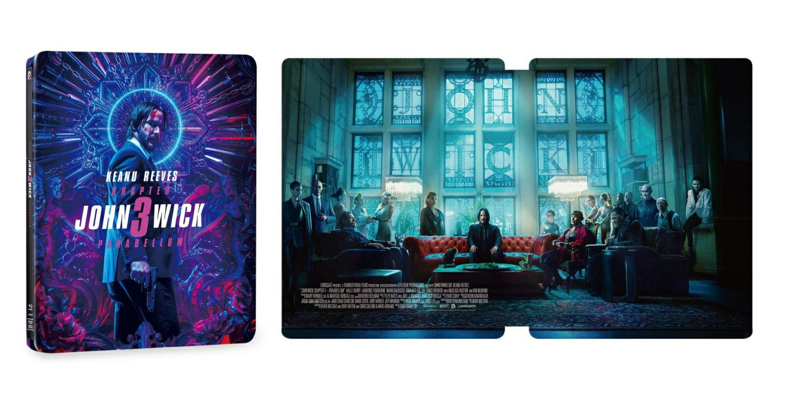 ジョン・ウィック:パラベラム コレクターズ・エディション【数量限定スチールブック仕様・日本オリジナルデザイン】【Blu-ray】