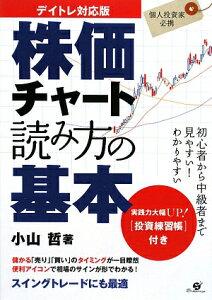 【送料無料】株価チャ-ト読み方の基本 [ 小山哲 ]