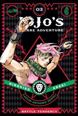 洋書, FAMILY LIFE & COMICS Jojos Bizarre Adventure: Part 2--Battle Tendency, Vol. 3, Volume 3 JOJOS BIZARRE ADV PART 2--BATT Jojos Bizarre Adventure: Part 2--Battle Hirohiko Araki