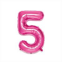 NUMBER BALLOON SFNP-05 pink5