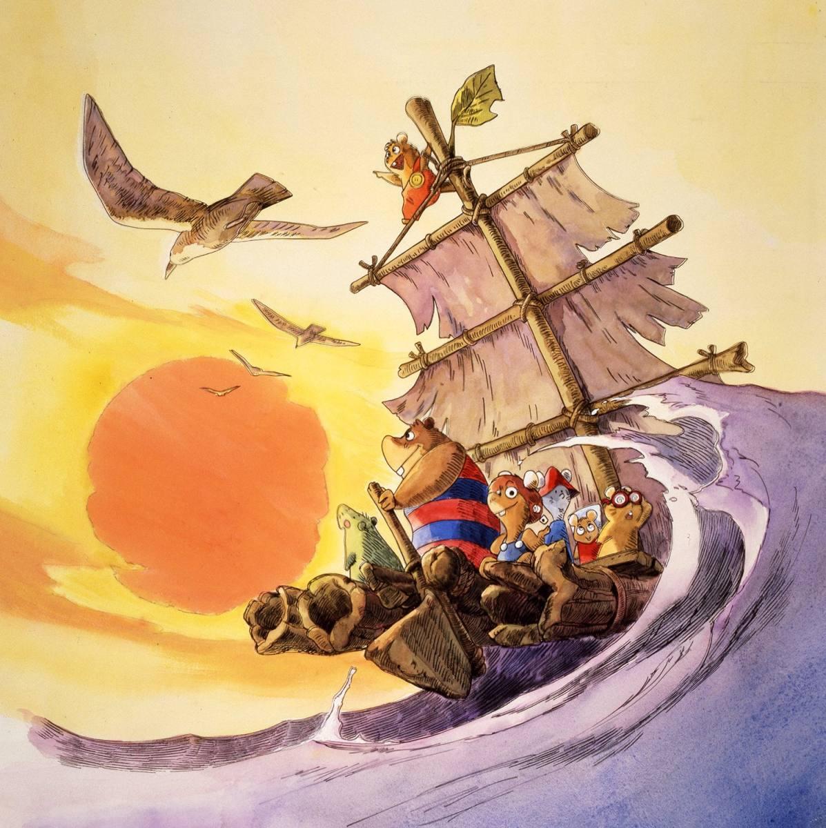 トムス・エンタテイメント『冒険者たち ガンバと7匹のなかま』