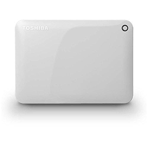 TOSHIBA ポータブルハードディスク CANVIO CONNECT(HD-PFシリーズ) 2TB ホワイト