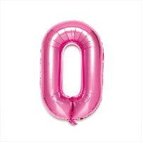 NUMBER BALLOON SFNP-10 pink0