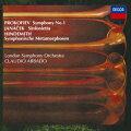 プロコフィエフ:古典交響曲 ヤナーチェク:シンフォニエッタ ヒンデミット:ウェーバーの主題による交響的変容