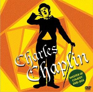 「チャールズ・チャップリン MASTER OF COMEDY DVD-BOX」の表紙