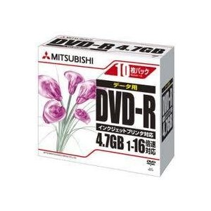 データ用DVD-R4.7GBx8 10枚ケース入り