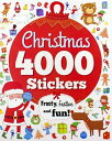Christmas 4000 Stickers: Frosty, Festive and Fun! CHRISTMAS 4000 STICKERS (4000 Stickers) [ Ben Hubbard ]