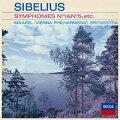シベリウス:交響曲第1番・第5番 組曲≪カレリア≫