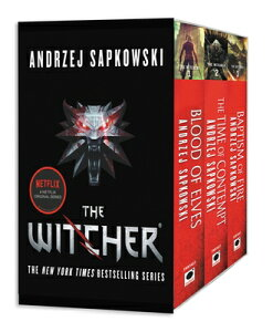 The Witcher Boxed Set: Blood of Elves, the Time of Contempt, Baptism of Fire WITCHER BOXED SET BLOOD OF ELV [ Andrzej Sapkowski ]