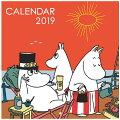 2019年 カレンダー 壁掛け ムーミン カレンダー BM120-90