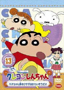 クレヨンしんちゃん TV版傑作選 第5期シリーズ 13 ネネちゃん家のウサギはかわいそうだゾ [ 臼井儀人 ]