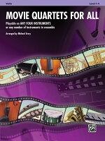 【輸入楽譜】四重奏のための映画音楽集 - ビオラ編/ストーリー編曲