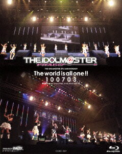 THE IDOLM@STER 5th ANNIVERSARY The world is all one!! 100703【Blu-ray】 [ (V.A.) ]