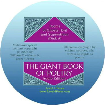 The Giant Book of Poetry Audio Edition: Poems That Make a Statement GIANT BK OF POETRY AUDIO /E D [ William H. Roetzheim ]