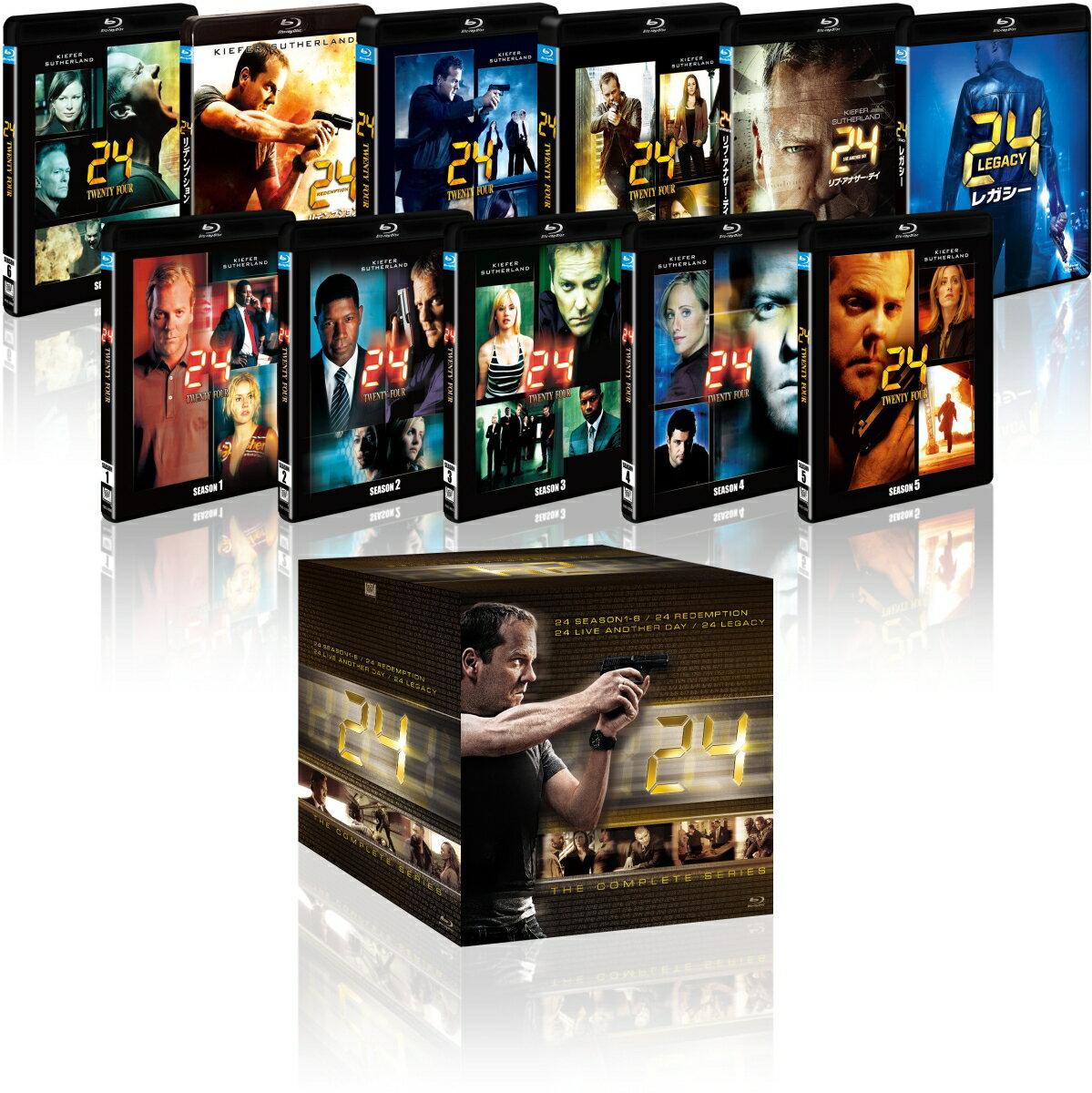24-TWENTY FOUR- コンプリート ブルーレイBOX【Blu-ray】