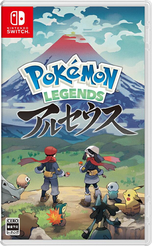 Nintendo Switch, ソフト Pokemon LEGENDS (V 1 )