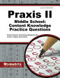 Praxis II Middle School: Content Knowledge Practice Questions: Praxis II Practice Tests & Exam Revie [ Mometrix Media LLC ]