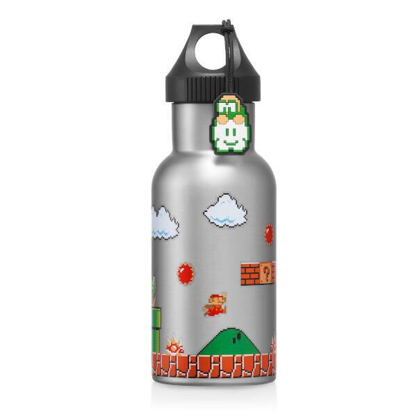 スーパーマリオ トラベル ステンレスボトル(地上コース)