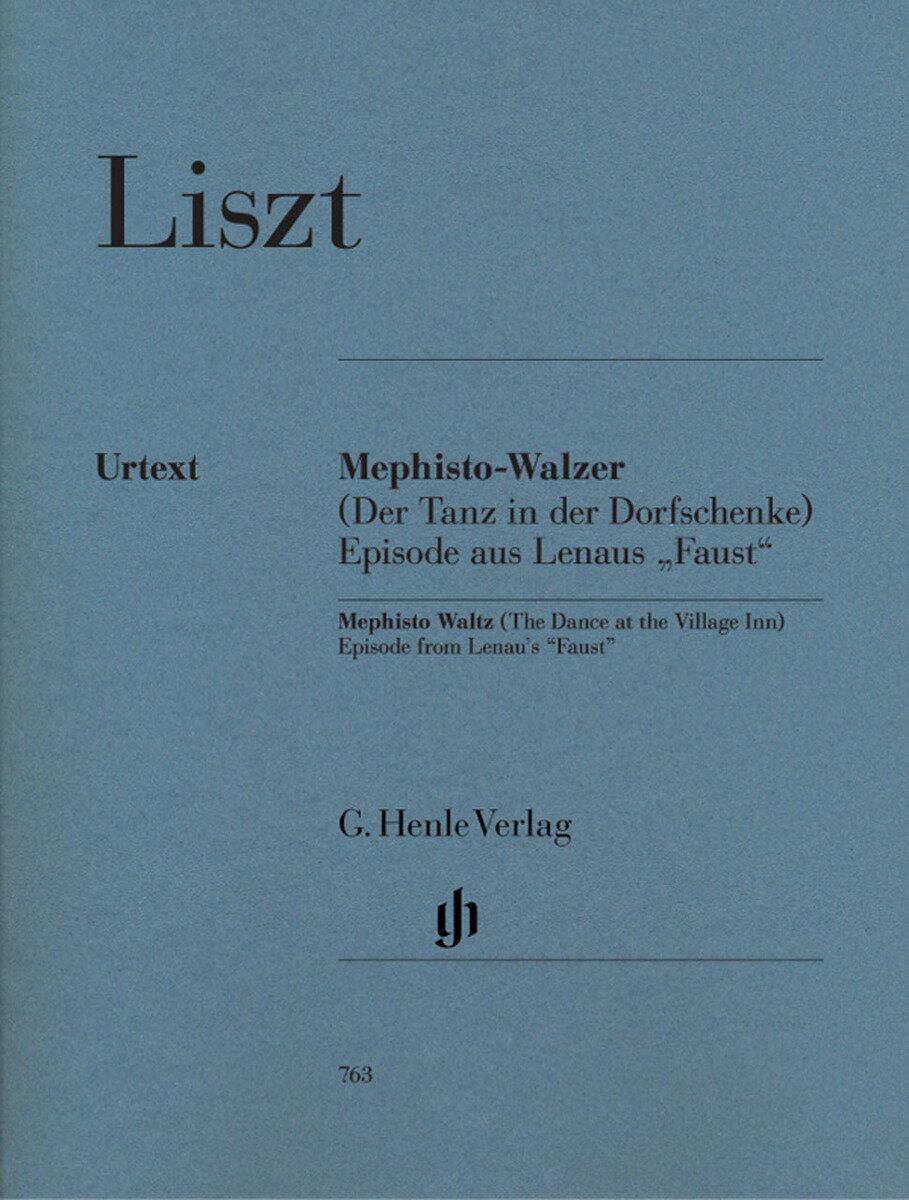 【輸入楽譜】リスト, Franz(Ferenc): メフィスト・ワルツ/原典版/Norbert & Veronika Giglberger編画像