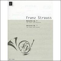 【輸入楽譜】シュトラウス, Franz: ノクターン Op.7