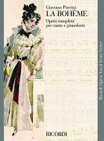 【輸入楽譜】プッチーニ, Giacomo: オペラ「ボエーム」(伊語)(2006年刊/紙装)