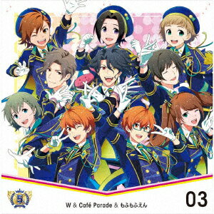 CD, ゲームミュージック THE IDOLMSTER SideM 5th ANNIVERSARY DISC 03 WCafe Parade THE IDOLMSTER SideM