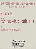 【輸入楽譜】ミヨー, Darius: 木管五重奏のための「ルネ王の暖炉」 Op.205