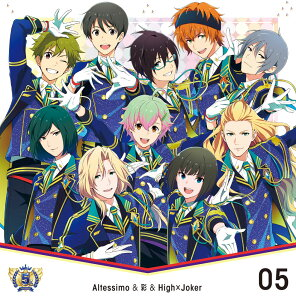 【楽天ブックス限定先着特典】THE IDOLM@STER SideM 5th ANNIVERSARY DISC 05 Altessimo&彩&High×Joker (L判ブロマイド付き)