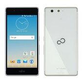 FUJITSU SIMフリースマートフォン arrows M03 ホワイト FARM06103